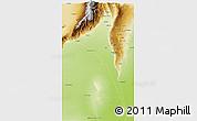 Physical 3D Map of Capayan
