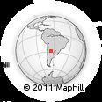Outline Map of El Alto