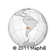 Outline Map of Fray Mamerto Esquiu