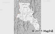 Gray Map of Catamarca