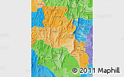 Political Shades Map of Catamarca