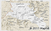 Classic Style Panoramic Map of Catamarca