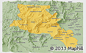 Savanna Style Panoramic Map of Catamarca