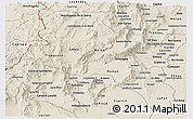 Shaded Relief Panoramic Map of Catamarca