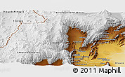 Physical Panoramic Map of Tinogasta