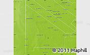 Physical Map of 12 de Octubre
