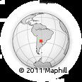 Outline Map of 12 De Octubre