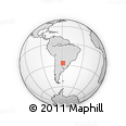 Outline Map of 1ro. De Mayo