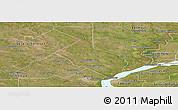 Satellite Panoramic Map of 1ro. de Mayo