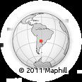 Outline Map of Fray Justo Santa Maria De