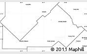 Blank Simple Map of Libertad