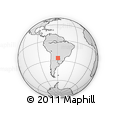 Outline Map of Libertador General San Ma