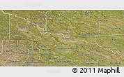 Satellite Panoramic Map of Libertador General San Ma