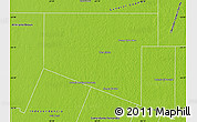Physical Map of Maipu