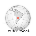 Outline Map of Maipu