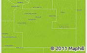 Physical 3D Map of Mayor Luis J. Fonta