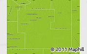 Physical Map of Mayor Luis J. Fonta