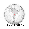 Outline Map of Mayor Luis J. Fonta