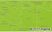 Physical 3D Map of O. Higgins