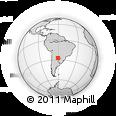 Outline Map of O. Higgins