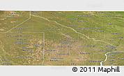 Satellite Panoramic Map of Chaco