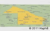Savanna Style Panoramic Map of Chaco