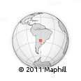 Outline Map of Quitilipi