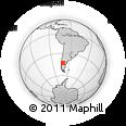 Outline Map of Futaleufu