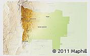 Physical 3D Map of Colon, lighten