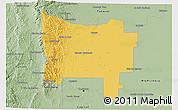 Savanna Style 3D Map of Colon