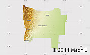 Physical Map of Colon, cropped outside