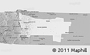 Gray Panoramic Map of Colon