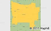 Savanna Style Simple Map of Colon