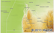 Physical 3D Map of Minas