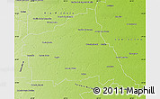 Physical Map of Rio Segundo