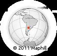 Outline Map of Rio Segundo