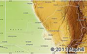Physical Map of San Alberto
