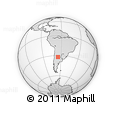 Outline Map of San Javier