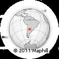 Outline Map of Sobremonte