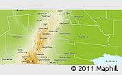 Physical 3D Map of Tulumba