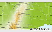 Physical Map of Tulumba