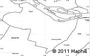 Blank Simple Map of Beron de Astrada
