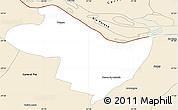 Classic Style Simple Map of Beron de Astrada