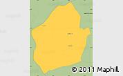 Savanna Style Simple Map of Capital