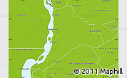 Physical Map of Empedrado