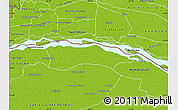Physical Map of Itati
