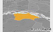 Political Map of Itati, desaturated