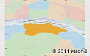 Political Map of Itati, lighten