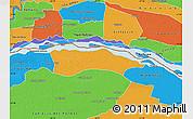 Political Map of Itati