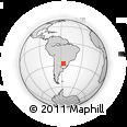 Outline Map of Ituzaingo